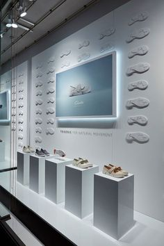 Clarks Shoes Trigenic Window Display - London