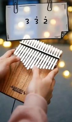 Kalimba - 17 Keys Thumb Piano, Perfect Christmas Gift for Kids and Adult Ancient African Mbira Finger Piano Made with Solid Mahogany Wood Including Study Instruction, Tune Hammer and Carrying Bag Cool Music Videos, Music Video Song, Good Music, Instrumental Music, Music Chords, Piano Music, Piano Keys, Flute Sheet Music, Music Music