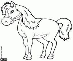malvorlagen Wettbewerb-Pferd ausmalbilder