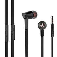 From 10.99:Earbuds Xudirect Se570 Wired Earphones With Microphone Line Control In-ear Headphones Black | Shopods.com