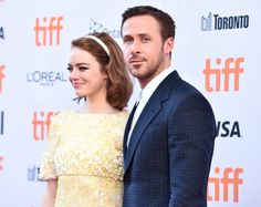 Ryan Gosling and Emma Stone (La La Land) - 2016 Toronto International Film Festival