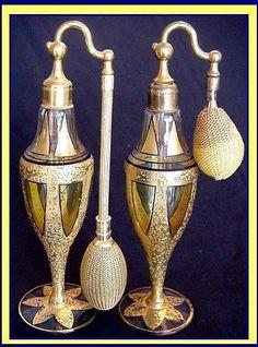 1920's Devilbiss perfume Bottles