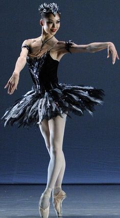 gavrilushka: Shoko Nakamura as Odile. She dances her perfectly! So seductive. :)