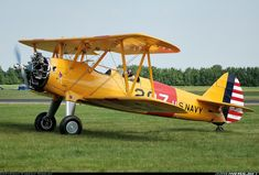 Stearman PT-13B/R670 Kaydet (A75) aircraft picture