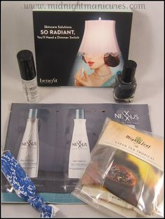 Midnight Manicures: Birchbox - September 2012 - Click to see the whole review.
