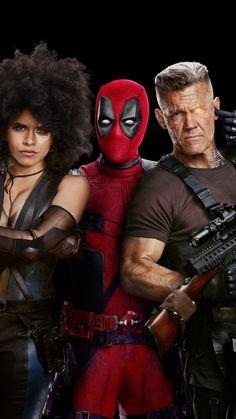 Domino Marvel, Marvel Heroes, Marvel Avengers, Deadpool 2 Movie, Deadpool Mask, Deadpool Wallpaper, Dead Pool, Dc Movies, Marvel Movies