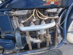 OldMotoDude: 1926 Henderson Excelsior at the 2013 Isle of Vashon TT -- Washington State