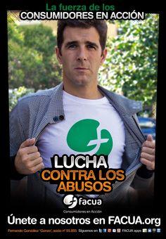 Fernando González `Gonzo´, socio de FACUA nº 55.855, llama a los consumidores a la lucha contra los abusos