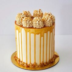 Salted Caramel Cake by dbakers Sweet Studio