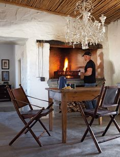 Home Page – House and Leisure Scandinavian Fireplace, Spook Houses, South African Homes, Interior Design Boards, Old Farm Houses, Interior Exterior, Rustic Interiors, My Dream Home, Living Spaces