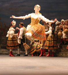 English National Ballet's Coppelia.  Laurretta Summerscales. Photograph by Cheryl Angear (=)