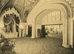 Dress circle foyer of Regent Theatre, Melbourne, 1929 | Flickr - Photo Sharing!