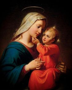 Marie 🌺 (@LovinMyMaster) / Twitter Jesus And Mary Pictures, Mother Mary Images, Catholic Pictures, Images Of Mary, Mary And Jesus, Blessed Mother Mary, Blessed Virgin Mary, Jesus Mother, Hail Holy Queen