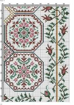 Cross Stitch Sampler Patterns, Cross Stitch Freebies, Cross Stitch Borders, Cross Stitch Samplers, Cross Stitch Flowers, Cross Stitch Charts, Cross Stitch Designs, Cross Stitching, Vintage Embroidery