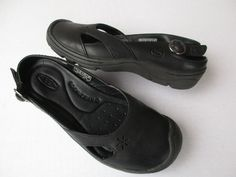 Keen women shoes 5 Black Leather #KEEN #Slingbacks #Casual