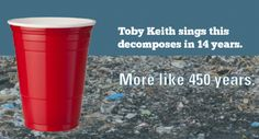 """SOLO cups are made of polystyrene plastic—the same plastic that's in a Dunkin' Donuts """"Styrofoam"""" coffee cup. Solo Cup, Dunkin Donuts, Coffee Cups, Plastic, Tableware, Coffee Mugs, Dinnerware, Tablewares, Coffee Cup"""