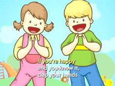 Kid's Sing-Along: If You're Happy and You Know it (with lyrics) from Speakaboos.com #singalong #kids