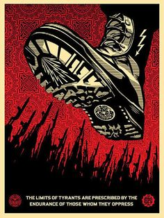PRINT ARCHIVE, 2008 Tyrant Boot 18 x 24 inch screen print Edition of 450