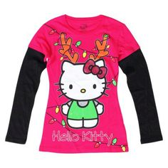 #hellokitty #girls long sleeve graphic top