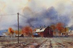 Autumn Barn A3