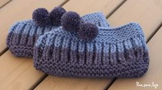 Cómo tejer pantuflas punto inglés Knitting Socks, Knitted Hats, Easy Crochet Slippers, Bed Socks, Tatting, Knit Crochet, Diy And Crafts, Crochet Patterns, Sewing