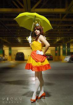 Princess Daisy cosplay by Vicky-Redfield.deviantart.com on @deviantART