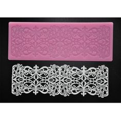 FOUR-C Cake Lace Mat Sugar Art Silicone Mold Baking Supplies Color Pink * Additional details @ : bakeware