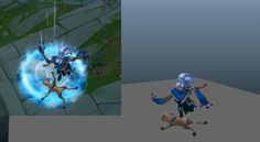My first recall animation at Riot on the Taliyah skin.   More work at jasonshum.com  Model/Texture by Duy Nguyen
