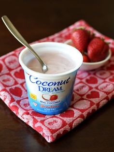 Coconut Dream Non-Dairy Yogurt - Available in 5 flavors, all dairy-free, gluten-free, soy-free and vegan. Sweet, dessert-like and probiotic-rich!