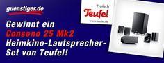 Heimkino-Lautsprecher-Set von Teufel zu gewinnen. Die Aktion läuft noch bis zum 01. Februar auf unserer Facebook-Fanpage. Jetzt mitmachen und gewinnen!