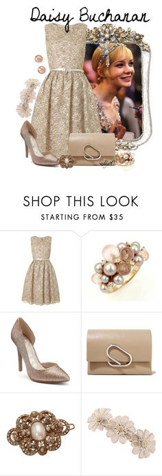 """Daisy Buchanan - The Great Gatsby"" by rubytyra ❤ liked on Polyvore featuring Gatsby, Eliza J, Mimí, Juicy Couture, 3.1 Phillip Lim, L. Erickson, Bloomingdale's, greatgatsby, daisybuchanan and nondisney"