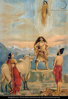 Raja Ravi Varma's Ganga Vatram