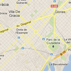 Barcelona Map - Attractions