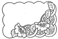 Ubrus obdélník richelieu, 41 x 27 cm - 1