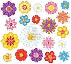 cartoon flowers - Google Search