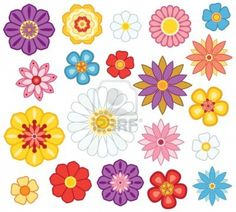 cartoon flowers - Google Search