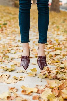 I love these skinnies and flats by SheIn.