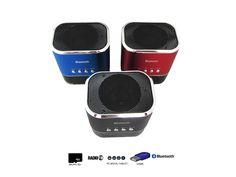 Altavoz Portátil Mini Inalambrico Con Bluetooth, Radio, MicroSD, USB y Con Batería Recargable  - http://complementoideal.com/producto/altavoz-mini-con-bluetooth-radio-microsd-y-usb-modelo-9127/  - Altavoz Mini Con Bluetooth con Radio, MicroSD y USB   Además con el Altavoz Mini Con Bluetooth podrás disfrutar de todas las emisoras de la Radio FM para que no te pierdas tus programas favoritos. El Altavoz Mini Con Bluetooth es compatible con tarjetas SD, MicroSD ,