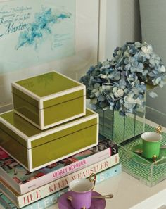 Adoring these lacquer boxes