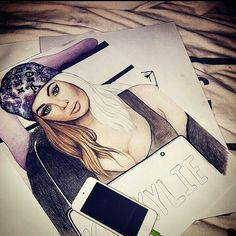 #kyliejenner #artwork  #art #drawing