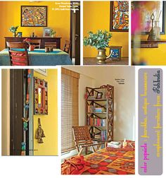 dress your home - Indian interiors, Bangalore home decor shops, apartment living… Indian Home Interior, Indian Interiors, Ethnic Home Decor, Indian Home Decor, Asian Decor, Bohemian Decor, Boho, Indian Living Rooms, My Living Room