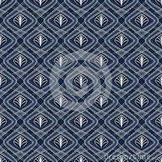 Seamless pattern ornament with stylized geometric elements background. Repeating texture modern graphic design