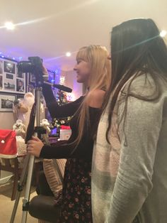 Production & Evaluation: A tripod was used in the production phases when filming narrative and performance shoots to steady our shots so that our footage looked professional We also used it to collect recorded feedback.