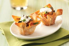 26 Recipes You Can Make In a Muffin Tin -- what could be more convenient than these perfectly portioned bites? [Chicken Taco Cups]