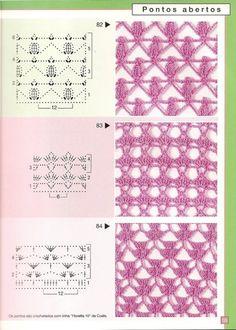 Gallery.ru / Фото #34 - Pontos de croche 205 идей - accessories
