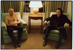 View Portrait of Dennis Hopper and Christopher Walken at Chateau Marmont by Annie Leibovitz on artnet. Browse upcoming and past auction lots by Annie Leibovitz. Best Portrait Photographers, Annie Leibovitz Photography, Dennis Hopper, Celebrity Photography, Color Photography, Chateau Marmont, Portfolio Book, Leonardo Dicaprio, Actors