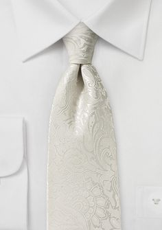 Floral Paisley Tie in Tulip - Forget the flowers! Show up in this floral paisley tie in tulip pink, and she won t be able to keep her two lips off you. The fluid paisley patte Groom Ties, Groom And Groomsmen, Wedding Ties, Wedding Attire, Wedding Stuff, Light Grey Suits Wedding, White Tie Wedding, Ivory Wedding, Formal Wedding