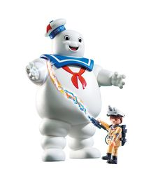 Playmobil 9221 GhostbustersTM Stay Puft Marshmallow Man: Playmobil Uk Limited: Amazon.co.uk: Toys & Games