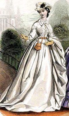 VICTORIAN RIDING HABIT, 1863