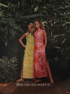Vintage The Lilly print ad late circa 1969.
